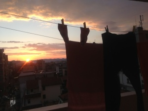 clothesline-sunset
