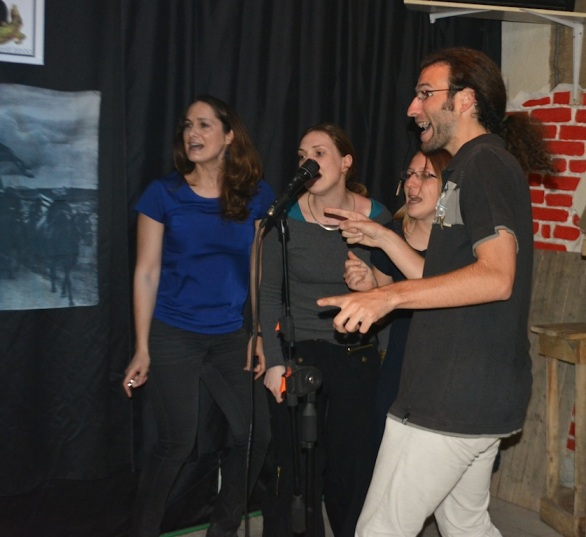 The french can karaoke - who knew?